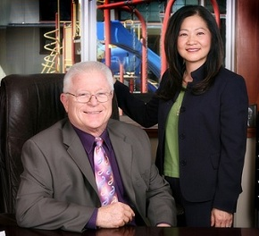 Dr. Joseph Morrow, President and co-founder of Applied Behavior Consultants Inc. ® ( ABC, Inc) and Brenda Terzich-Garland.
