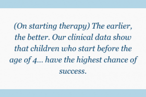 On starting therapy
