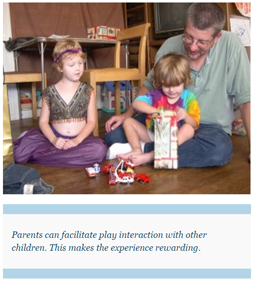parents can facilitate play interaction
