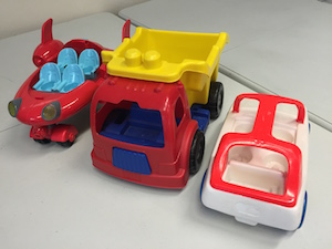 toy trucks autism school